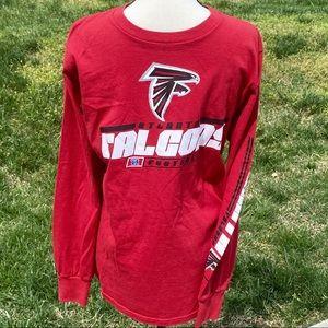 NFL T-Shirt M Atlanta Falcons Long Sleeve